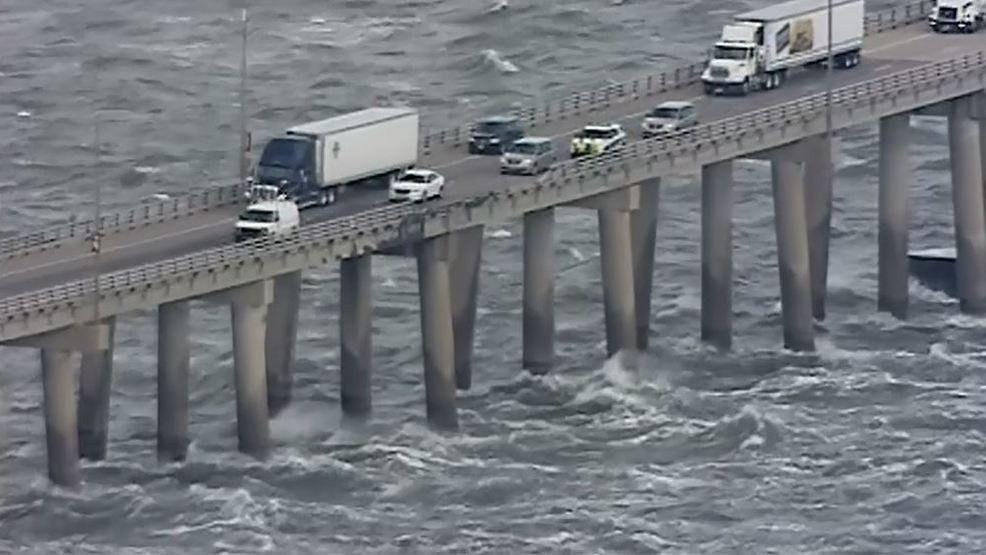 Truck driver dies after truck going off Chesapeake Bay Bridge ...