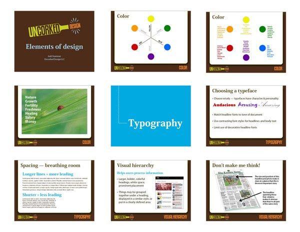 PowerPoint presentation project samples | Uncorked Design portfolio