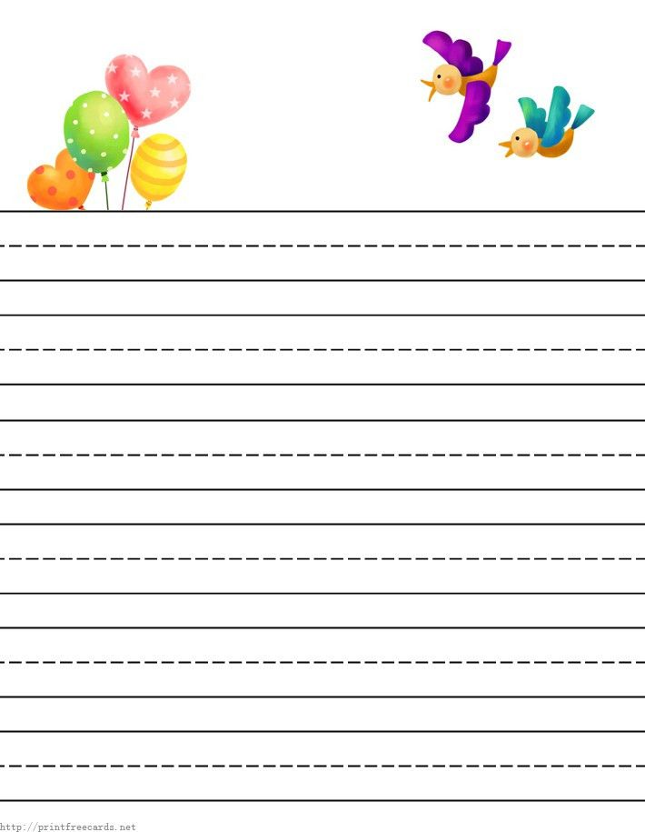 free printable stationary(stationery) for kids,free children's ...