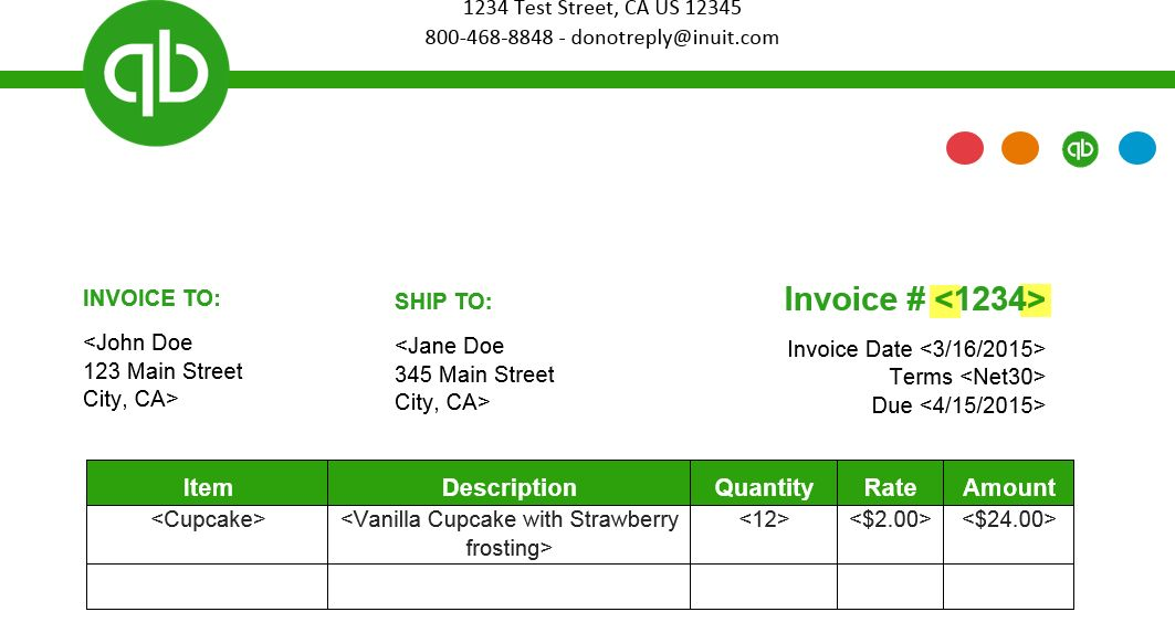 How to Import Invoice Template Styles from Word - QuickBooks Learn ...