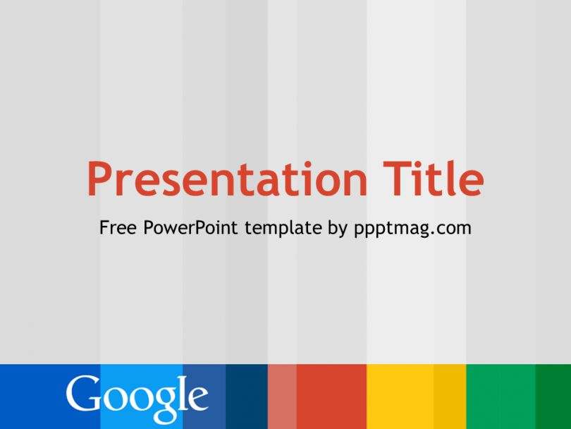 Free Google PowerPoint Template - PPTMAG