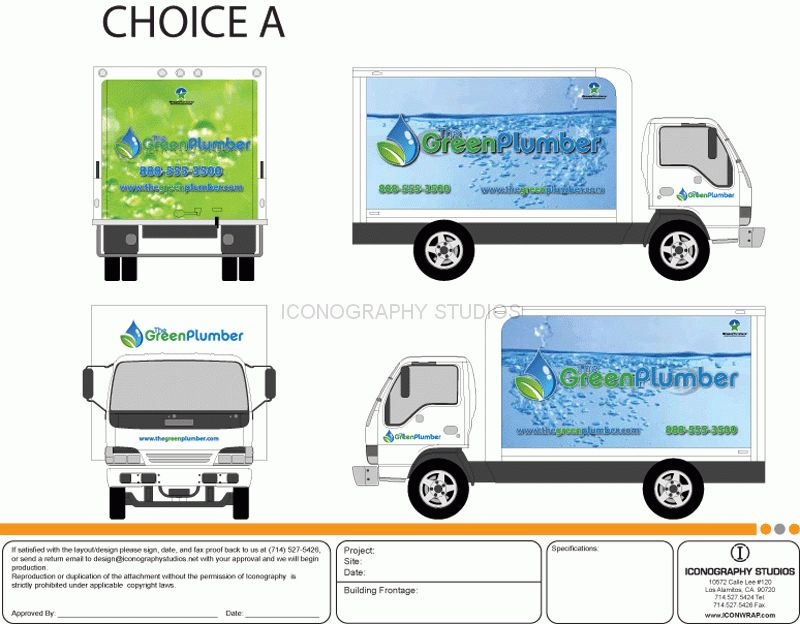 Vehicle Wrap Design by Icongraphy - Long Beach, Orange County, CA ...