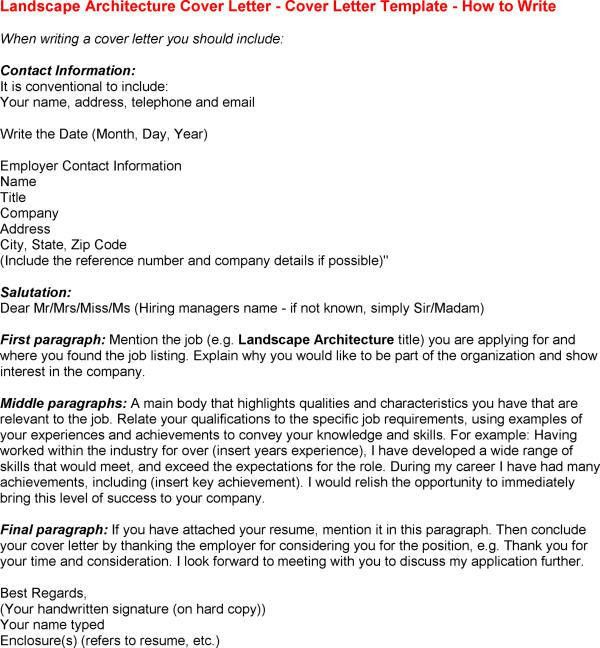 Best Cover Letter Example - My Document Blog