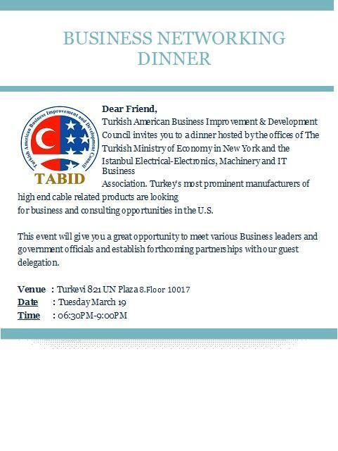 "TABID on Twitter: ""Invitation letter to #Business #Networking ..."
