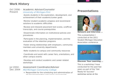 academic counselor resume template. 2017 college academic advisor ...