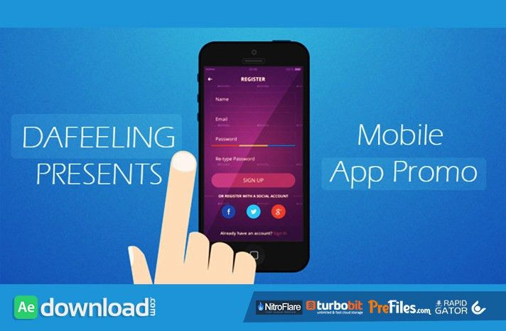 MOBILE APP PROMO (VIDEOHIVE) - FREE DOWNLOAD - Free After Effects ...