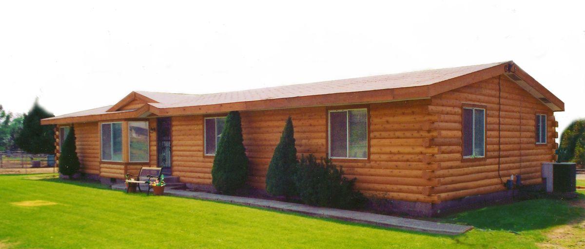 Modular Log Homes On Pinterest Log Siding Log Homes