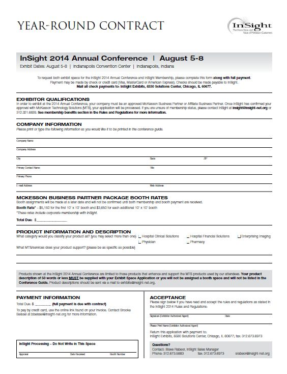 InSight : InSight 2014 Annual Conference : Become an Year- Round ...