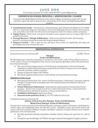 assistant principal resumes it resume sample assistant sample ...