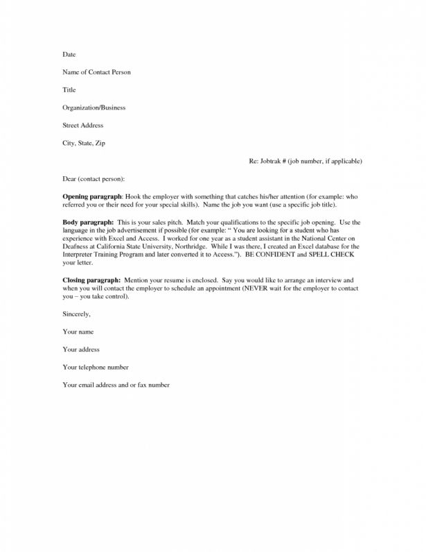 Uncategorized : Cover Letter Email Sample Template ...