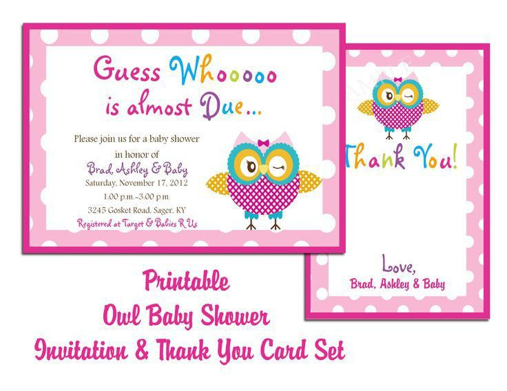 Baby Shower Printable Invitations Free | THERUNTIME.COM