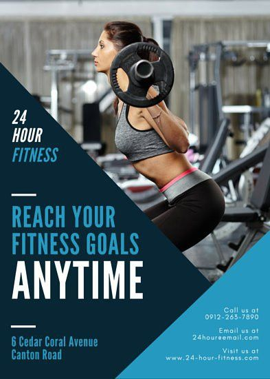 Fitness Flyer Templates - Canva