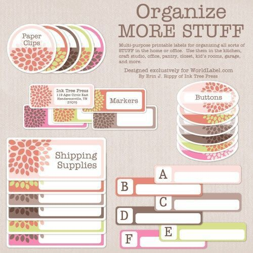 83 best Editable Labels images on Pinterest | Tags, Labels free ...