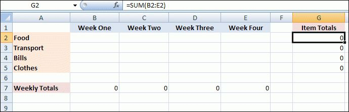 Excel 2007 to Excel 2016 Tutorials: How to Create a Worksheet Template
