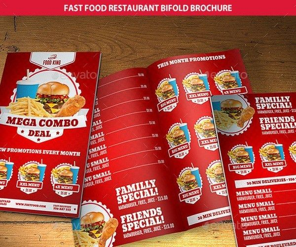 25+ Cafe and Restaurant Brochure Templates
