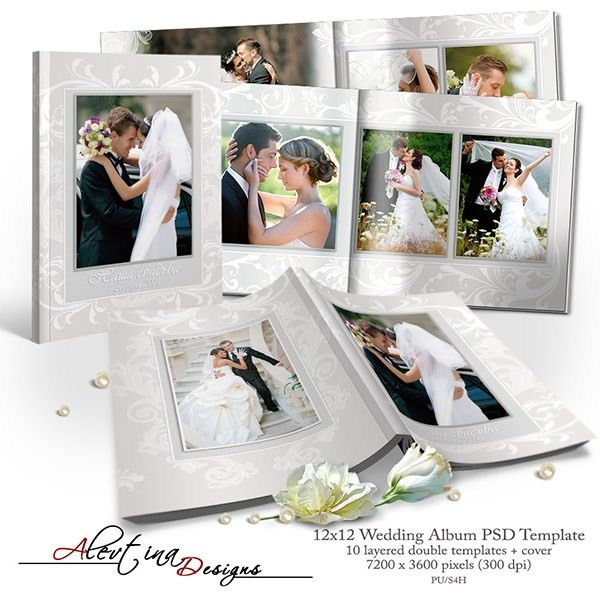 Album Wedding templates PSD (PU/S4H) by Alevtina ...