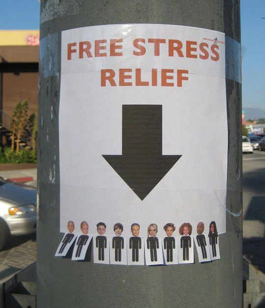 Free stress relief | Stress relief, Funny signs and Funny images