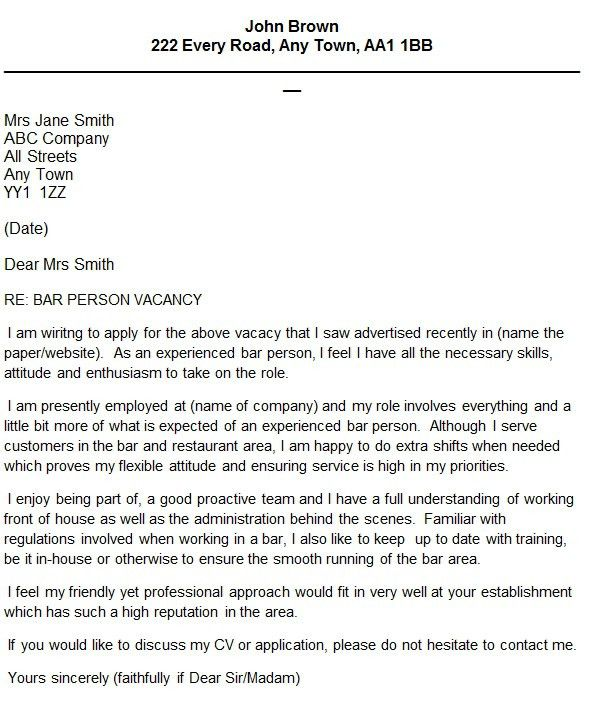 cover letter for barista professional barista cover letter sample