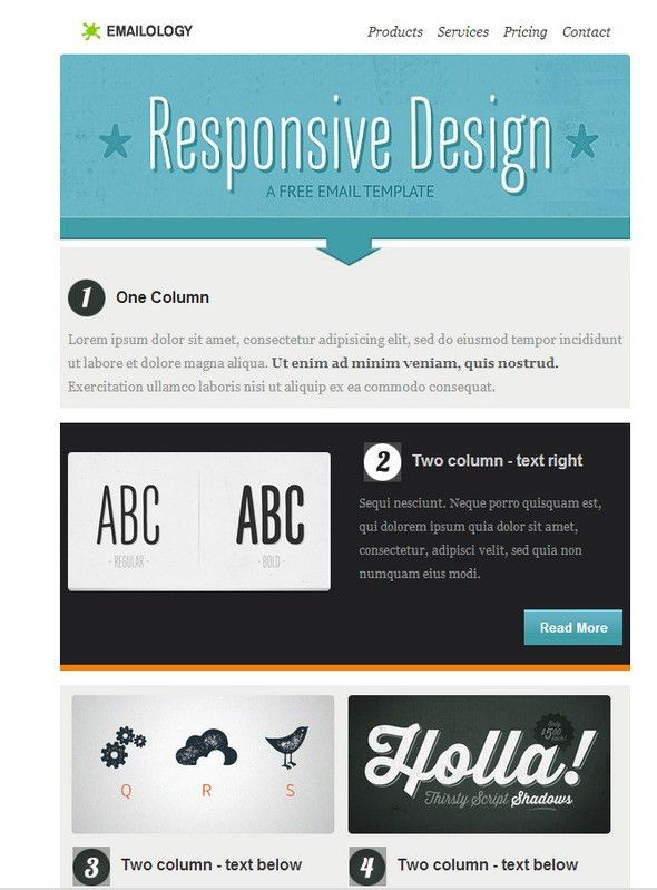 35 Best Responsive HTML Email Templates (Free, Premium)
