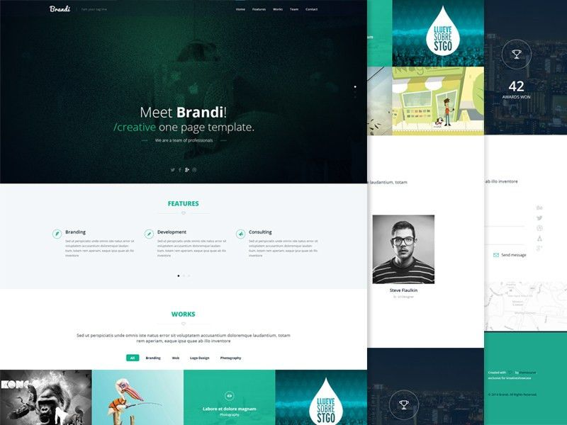 20+ Best Free Responsive Bootstrap HTML5 Templates
