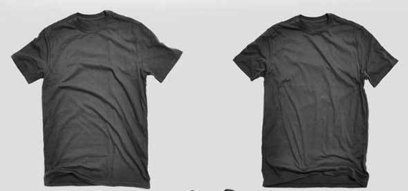 20 Useful and Free Blank T-Shirt Templates
