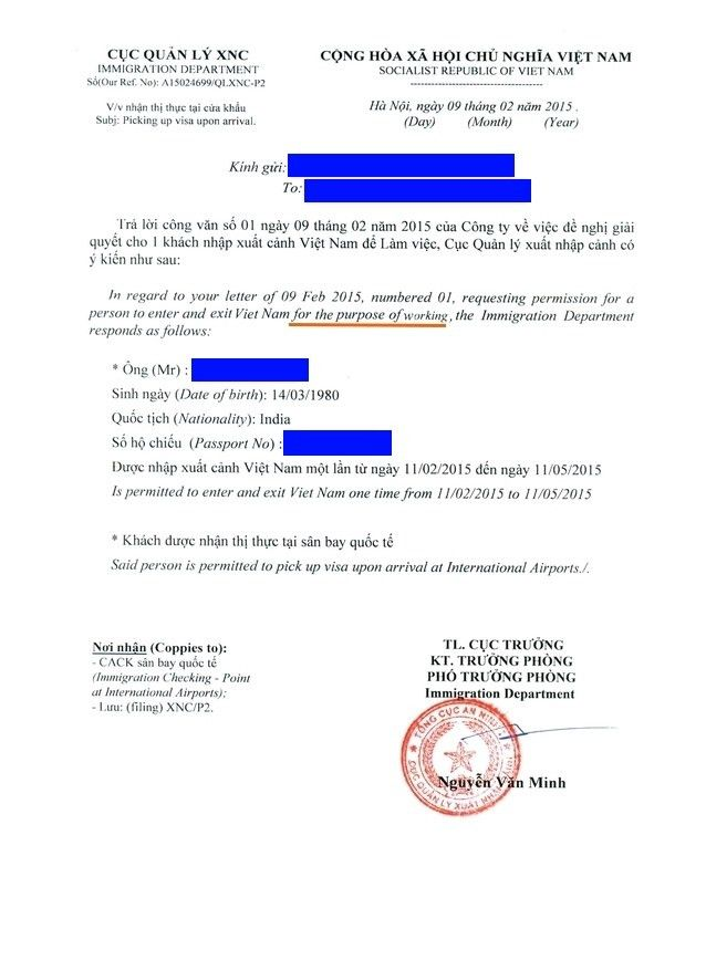 Vietnam business visa (LV, DT, NN or DN visa category) | e ...