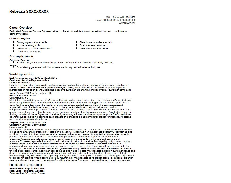 Target Retail Sales Associate Resume Sample | Quintessential ...