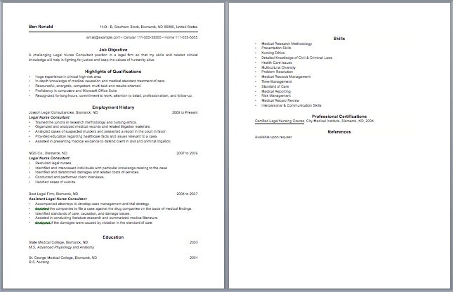 examples of rn resumes resume format download pdf 12751650 resume ...