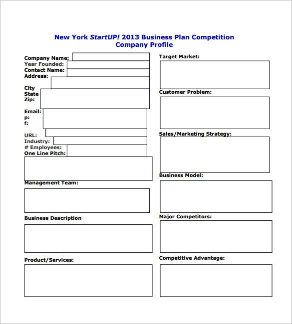 Business Plan Template Business Plan Template Free Download - One year business plan template