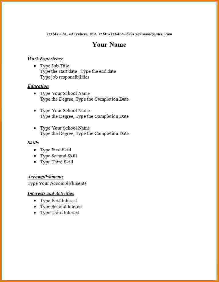 Home Design Ideas. resume examples best part time job resume ...