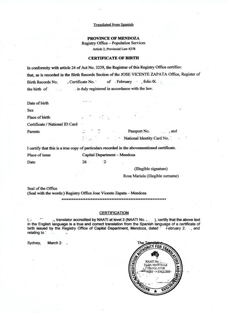 Official Birth Certificate Template Description Sf Marriage ...