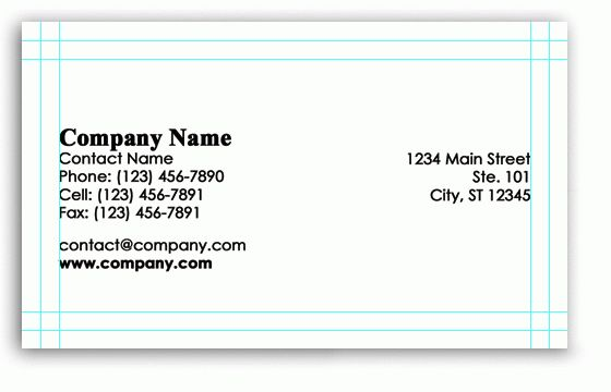 Photoshop Business Card Templates | Free Photoshop Business Card ...