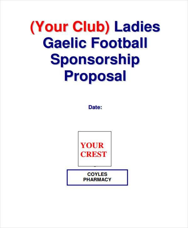 9+ Event Sponsorship Proposal Templates -Free Sample, Example ...