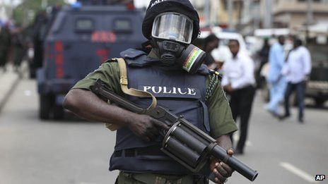 "We Have A Responsibility To Uphold Constitution"" Police Defends ..."
