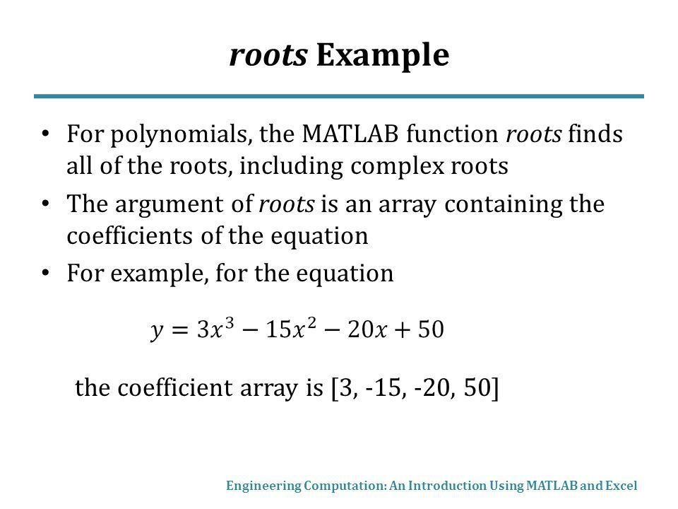 Newton's Method, Root Finding with MATLAB and Excel - ppt video ...