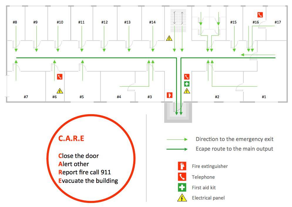 Fire Evacuation Plan Template