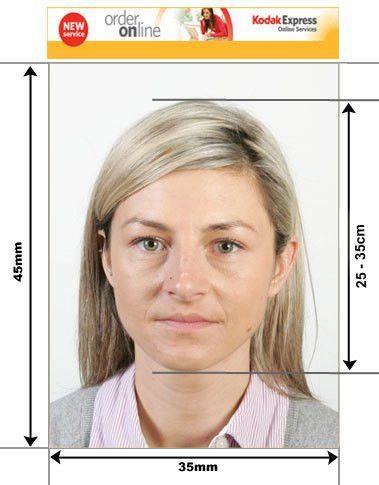 Belgium Passport and Visa Photos