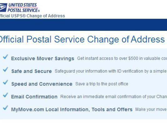 Crooks strike again filing fake change of address form