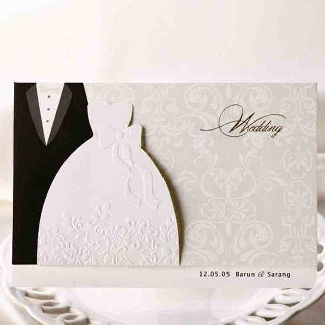 1pcs Sample Groom & Bride Clothes Customizable Printable Wedding ...
