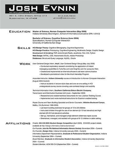 Resume Examples Templates: Free Best Examples Of College ...