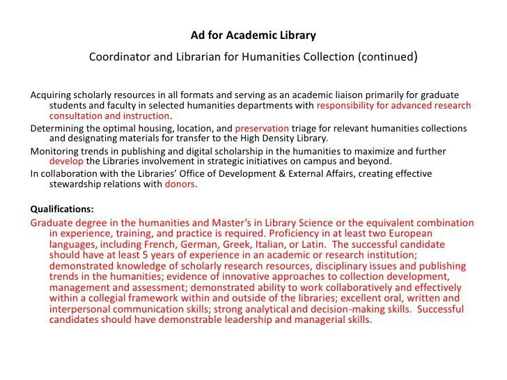 librarian resumes library resume hiring librarians sample resume ...