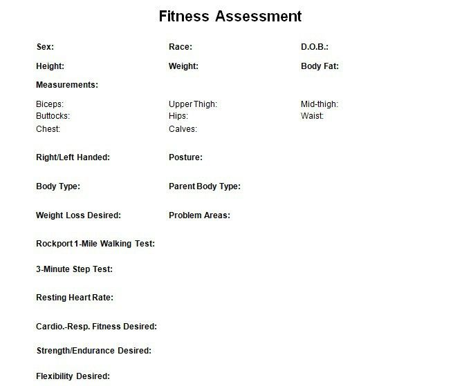 Personal Trainer Forms | Free Waivers and Business Documents ...