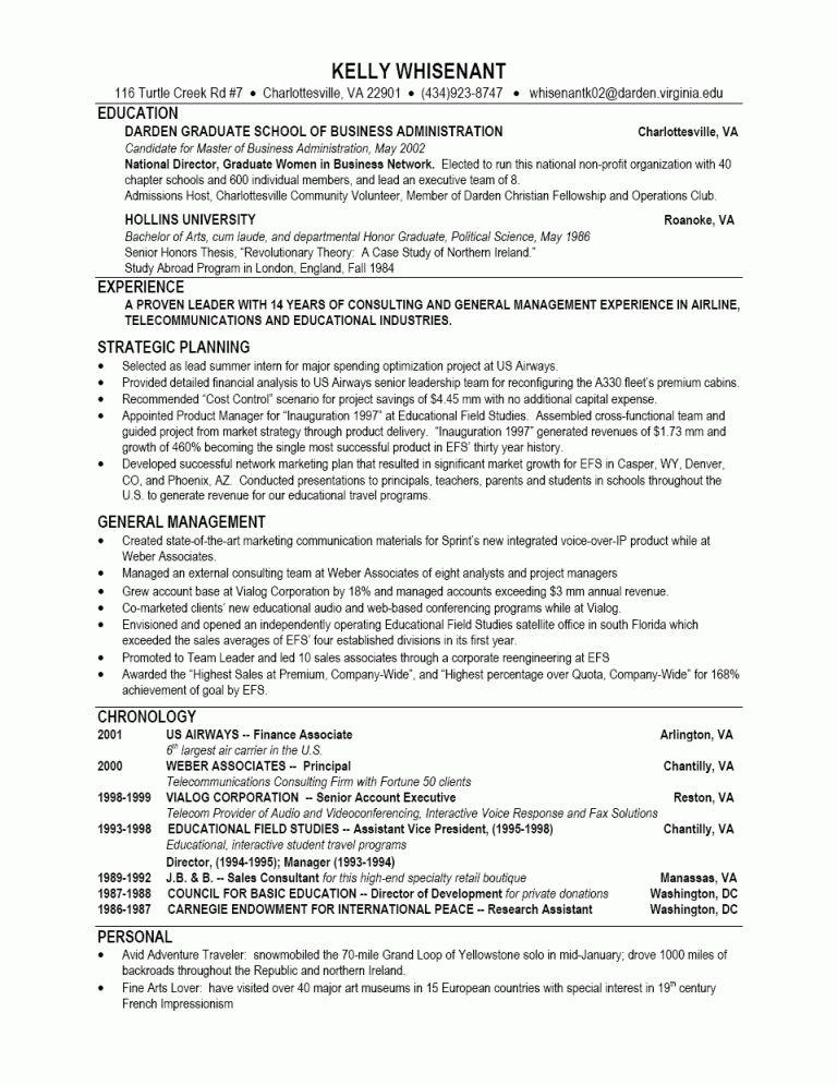 Download Business Resume Format | haadyaooverbayresort.com