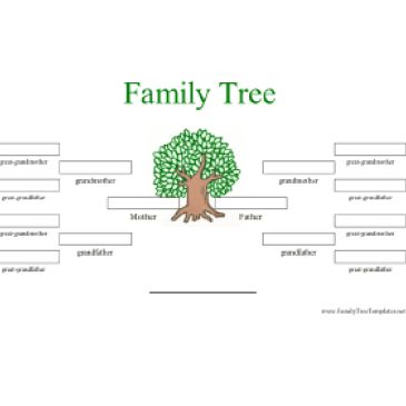 Family History Graph Template Archives - Excel Templates