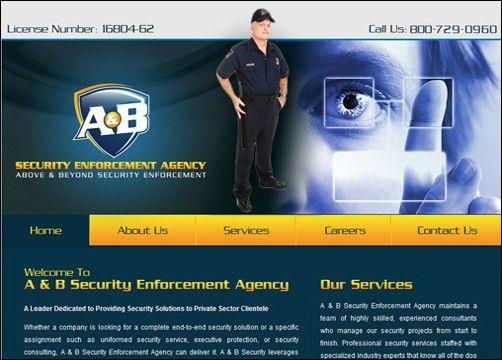 Security Service Websites