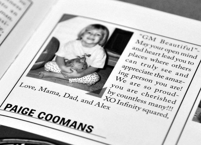 Yearbook Baby Ads | Cedar Ridge Middle School