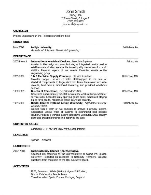 Curriculum Vitae : Marketing Assistant Job Description For Resume ...