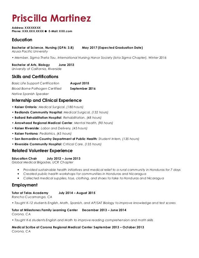 PMar Resume and Cover Letter