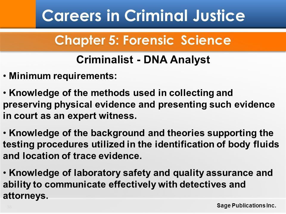 Chapter 5: Forensic Science - ppt download