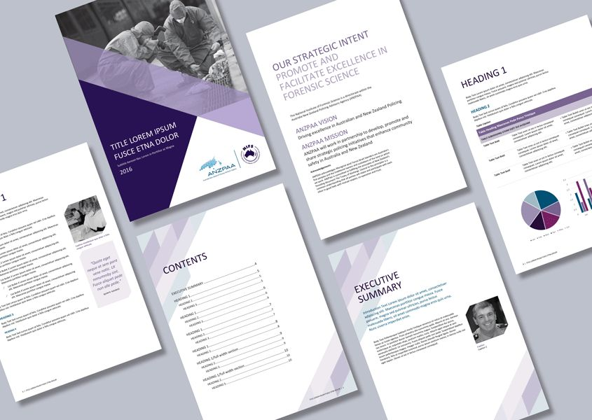 Advisory agency Word report template - Cordestra